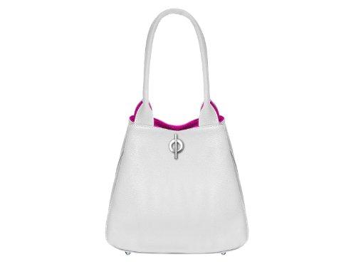 scarlet bijoux, Poschette giorno donna bianco bianco H 19 x B 26 x T 12,5 cm