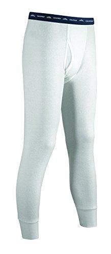 ColdPruf Men's Basic Dual Layer Bottom, Winter White, 3X-Lar
