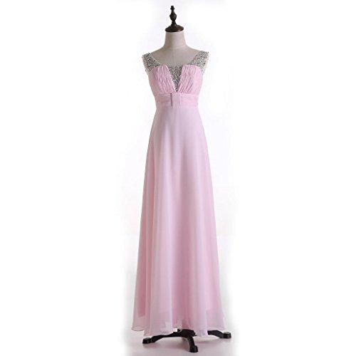Damen Kleid Champagne Elfenbein Empire Drasawee Z8fR1q4xw