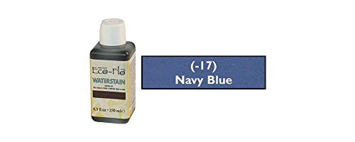 - Tandy Leather Eco-Flo Waterstain Navy Blue 8.5 oz. (250ml) 2800-17