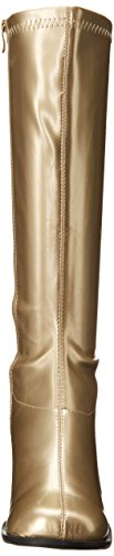 Ellie Shoes Damen Go-Go Boot Gold