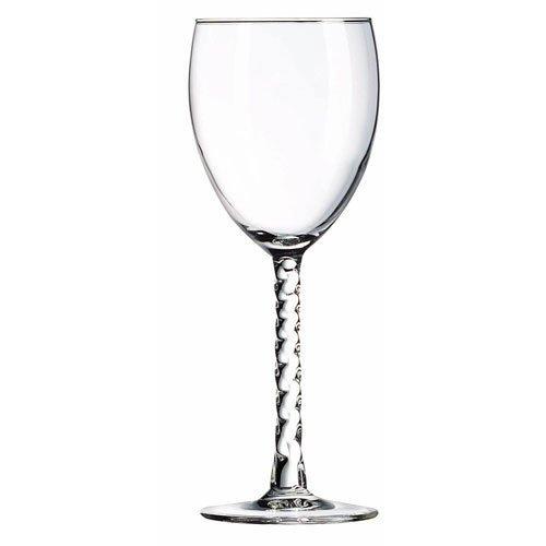 Arc International Luminarc Angelique Wine Glass, 8-1/2-Ounce, Set of 12 ()