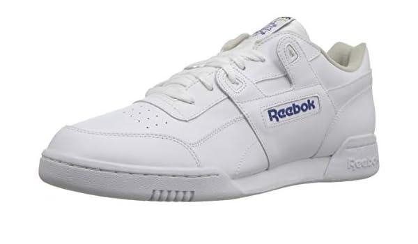 Reebok Workout Plus, Zapatillas de Deporte para Hombre, Blanco (white/royal), 38.5 EU (5.5 UK): Amazon.es: Zapatos y complementos