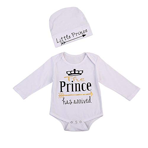 SMALLE◕‿◕ Clearance,Newborn Toddler Infant Baby Boys Girls Letter Print Romper Jumpsuit Outfits