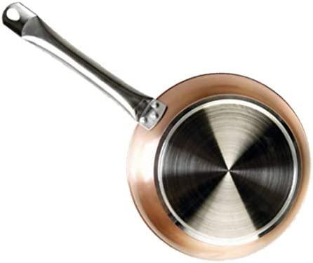 WeCook 10518 Sarten Antiadherente Induccion Vitrocerámica y Fogón, 18 cm, Sin PFOA ni BPA