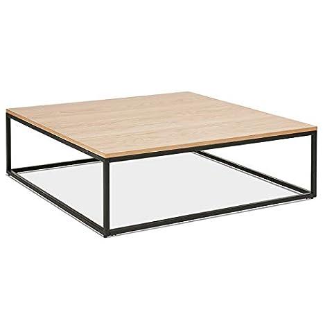 Grande Table Basse Style Industriel \'Tribeca\' en Bois ...