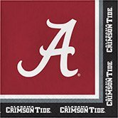 Club Pack of 240 NCAA University of Alabama Premium 2-Ply Disposable Party Lunch Napkins -