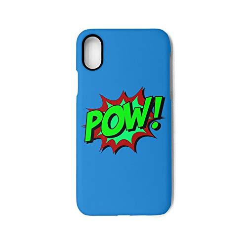 Iphone X Case green pow red Pretty TPU Cover Case