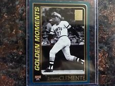 2 Roberto Clemente 2001 Topps Golden Moments Cards 2001 Topps #784 & 2001 Topps Opening Day #162 Pittsburgh Pirates Legend Baseball Cards Pittsburgh Pirates Legends
