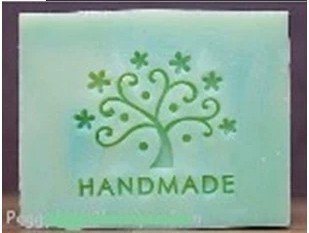 Shop Stamp (Lucky Tree Pattern Mini Diy Soap Stamp Chaprter Seal 5*5cm, 1piece.)