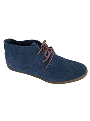 83206W Women Suede Roots UK4 Perry Blue Shoes Unlined Fred 15Tx0Fw0