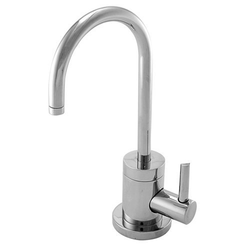 Contemporary Single Handle Single Hole Cold Water Dispenser Faucet Finish: Polished Chrome Color: Polished Chrome, Model: 106C/26, Tools & Outdoor Store