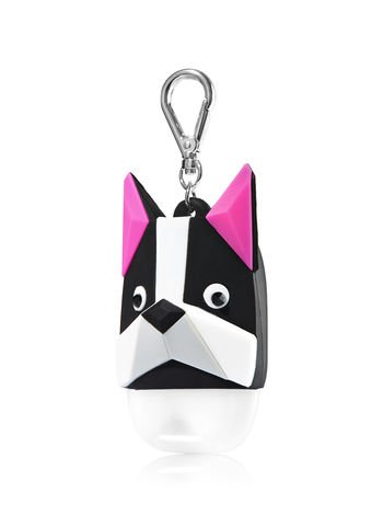 Terrier Body (Bath and Body Works Pocketbac Hand Sanitizer Holder Boston Terrier.)