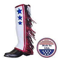 Adults Patriotic Half Chap by Congress L...