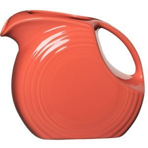 Fiesta 67-1/4-Ounce Large Disk Pitcher, Flamingo ()