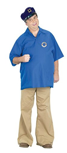 Gilligan's Island Gilligan Adult Costumes (Pony Express Mens Skipper Gilligan'S Island Theme Party Fancy Dress Costume, One Size (42-44))