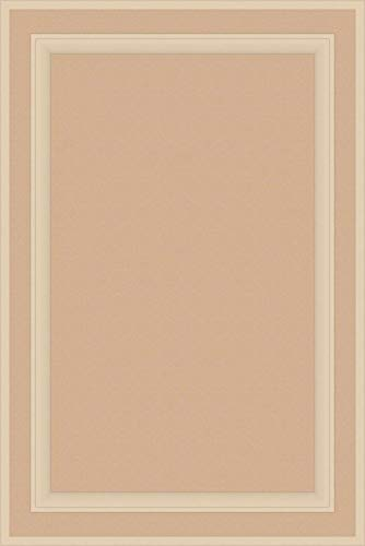 Kendor Unfinished MDF Cabinet Door, Square with Raised Panel, 36H x 24W