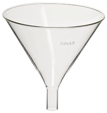 Kimble 29020-100 Glass Round Powder Filling Funnel, with 1.5