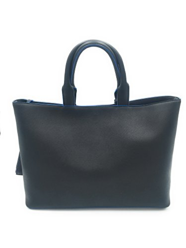Armani jeans 922532 CC856 Bolsos de mano Mujer Negro 40 x 30 x 12 cm