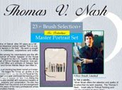 Silver Brush TN-1070 Thomas V. Nash Portrait Deluxe Set, 24 Per Pack by Silver Brush Limited