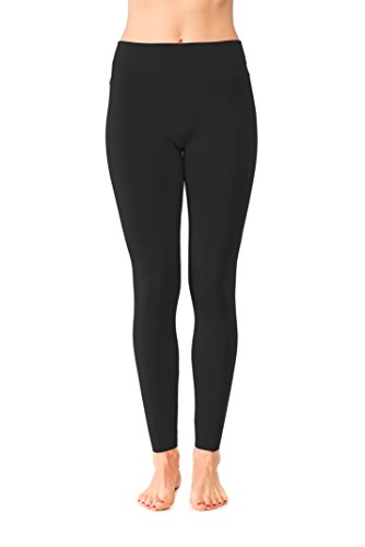 JP Womens Ankle Length Fleece Lined Leggings Super Stretchy Great For Workout Variety Of Colors 31v tYR6JSL