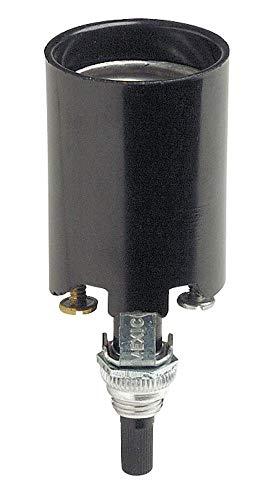 Leviton C20-04155-051 Medium Base Turn Knob Lamp Socket ()