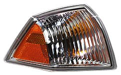 Turn Signal Lamp Assembly - TYC 18-6047-01 Jeep Compass Front Passenger Side Replacement Parking/Signal Lamp Assembly