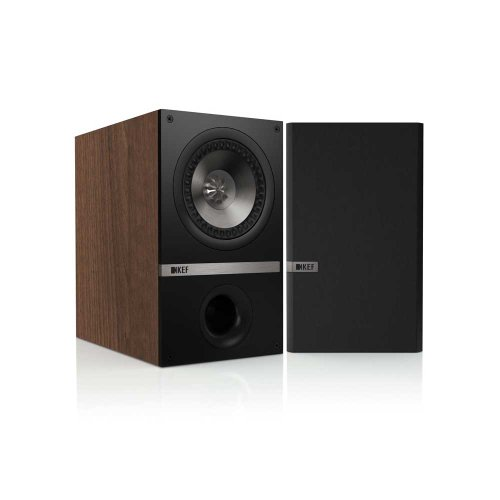 KEF Q100 Bookshelf Loudspeakers - American Walnut (Pair)