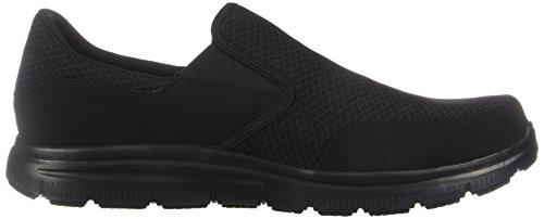 cheap with paypal countdown package online Skechers for Work Men's Flex Advantage Slip Resistant Mcallen Slip On Black lgXrf3F0