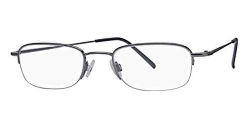Flexon Flx 807Mag-Set Eyeglasses 033 Light Gunmetal Demo 51 20 145 ()