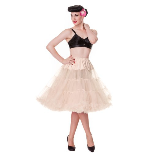 Hell Bunny Plus Ivory Full Volume Petticoat 27