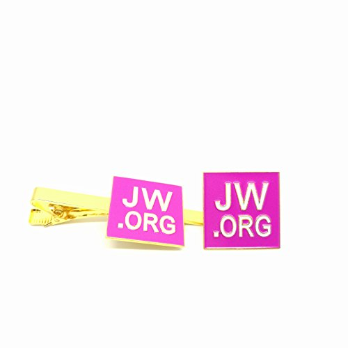 Perfect Present jw org necktie set Square Box Pink