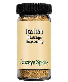 Italian Sausage Seasoning By Penzeys Spices 3 7 oz 1/2 cup jar