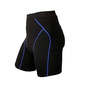 31v0 wJcbkL. SS300 Pantaloncini da Ciclismo Sports Pantaloncini da Bici Mutande Biancheria Intima 4D da MTB Bike Short Pants