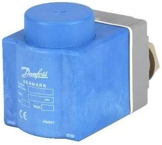 Solenoid Coil Danfoss 115v Ac 60hz 10w Ac//18w Dc Ip67 Akv 018f6710
