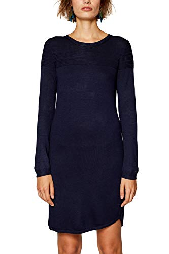 Blau 5 404 ESPRIT Damen Kleid Navy qFw7HPHEIv
