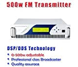 GOWE 500W Digital DSP FM stereo radio transmitter exciter power adjustable from 0~500w