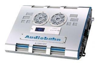 Audiobahn A12001DT Amplificador de clase D de alta salida de 1 canal con mando a distancia