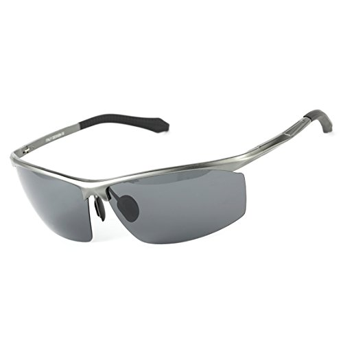 ODODOS Polarized Sports Sunglasses for Driving Cycling Baseball Running Fishing Superlight - Sunglasses Best Cricket