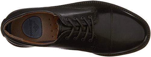 Captoe Oxford Gordon Leather Dockers Shoe Men's Dress Black TCfwnxgqn