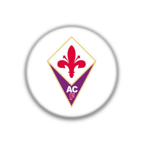 Fiorentina Football - Fiorentina : Italian Football League, Pinback Button Badge 1.50 Inch (38mm)