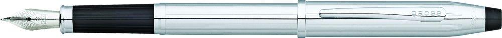 Cross Century Ii Lustrous Chrome Fountain Pen With Fine Nib