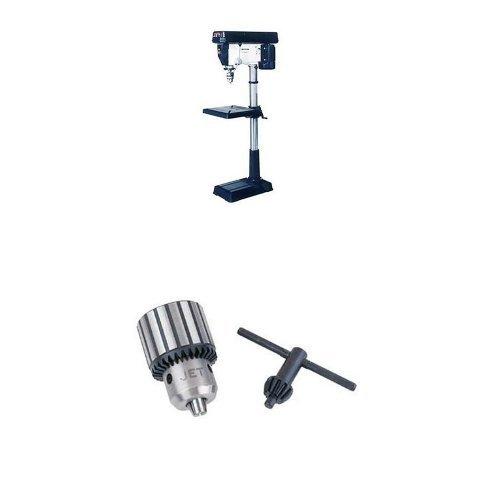 """JET 354170/JDP-20MF 20-Inch Floor Drill Press with TDC-500, Taper Mount Drill Chuck 0-1/2"""" x JT-6"""
