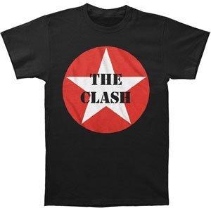 FEA The Clash Star Logo T-Shirt Black