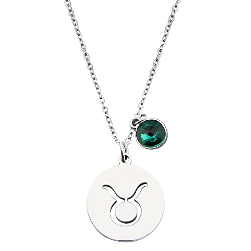 jewelry taurus products necklace grande zodiac satya back emerald