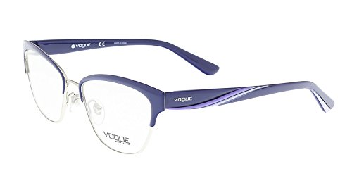 - Vogue VO4033 Eyeglass Frames 5029-51 - Blue/Silver