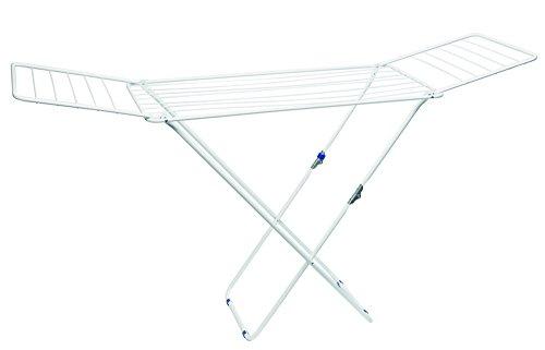 Gimi Wäscheständer 20m Top Wäschetrockner aus Stahl Flügelwäschetrockner Wäsche Trocknen ( farblich sortiert )