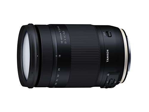 TAMRON high magnification zoom lens 18-400mm F3.5-6.3 DiII VC HLD for Canon APS-C only B028E(International Version – No Warranty)