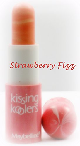 Maybelline Kissing Koolers Flavored Lip Gloss ~ Strawberry Fizz (Quantity 1)