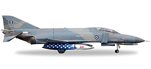 HERPA 558518 Hellenic Air Force Mcdonnell Douglas F-4E Phantom II-339 Sqd Aircraft Model Kit, Multi-Colour